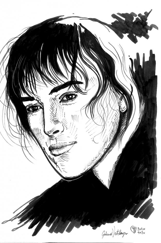 Keira Knightley by veitsberger